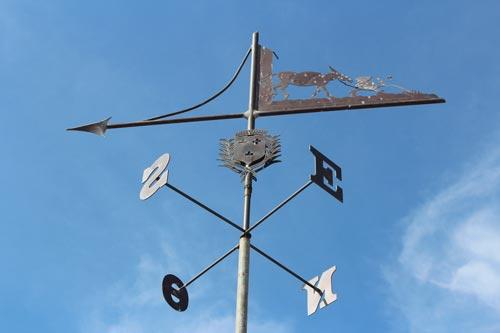 La girouette du moulin